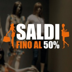 Saldi shopping fashion