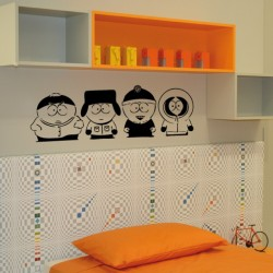Adesivo wall stickers bambino south park - 0020