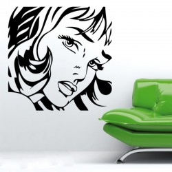 Adesivo wall stickers comic fumetto - Roy Lichtenstein - 0007