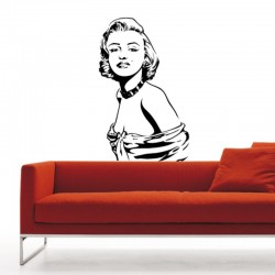 Adesivo wall stickers cinema - Marilyn Monroe - 0047