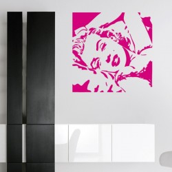 Adesivo wall stickers cinema - Marilyn Monroe - 0156