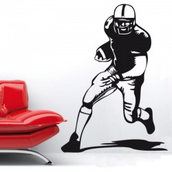 Adesivo wall stickers sport - Giocatore Football - 0126