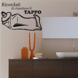 Adesivo wall stickers oggetti - Tubetto dentrificio - 0157