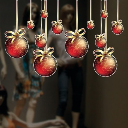 Palline natale fashion appese